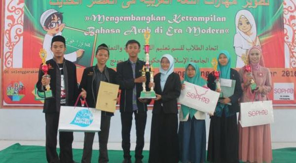 Juara Umum Gebyar Bahasa Arab di IAIN Tulungagung