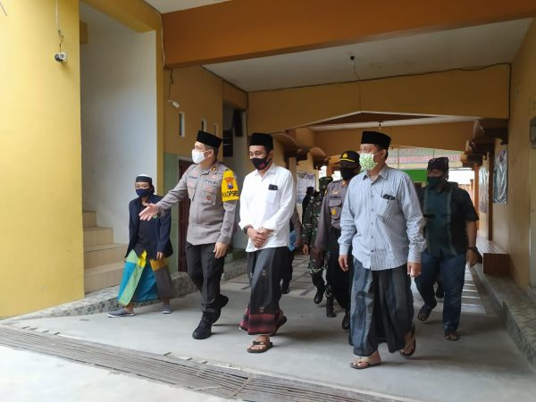 Tinjau Kesiapan Pesantren Tangguh, Kapolresta Blitar Kunjungi PPTA