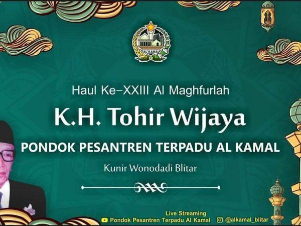 Haul Ke-XXIII Al Maghfurlah KH Thohir Wijaya