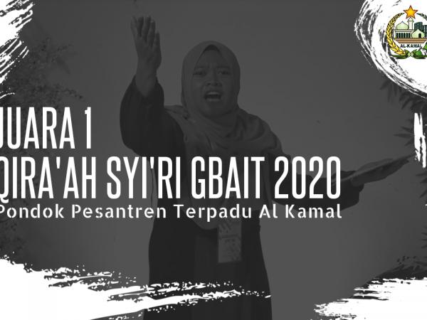 Qiro'ah al-Syi'ri Sabet Juara Pertama GBAIT 2020