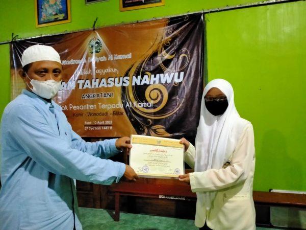 Madina Gelar Haflah Tasyakur Program Tahasshus Nahwu
