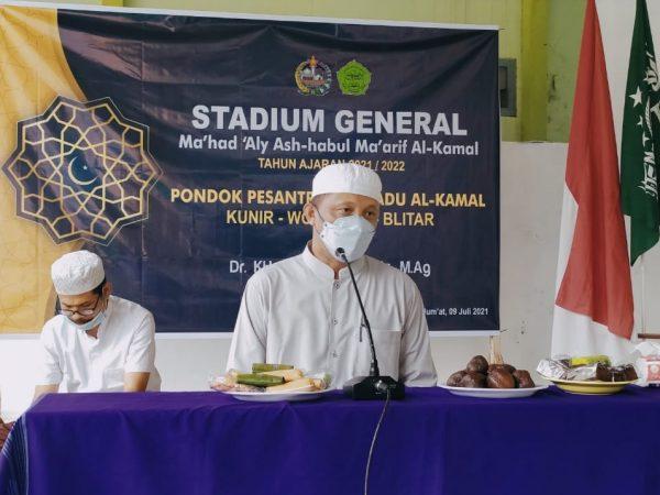 Buka Tahun Ajaran Baru, Ma'had Aly Ashabul Ma'arif Al Kamal Gelar Stadium General