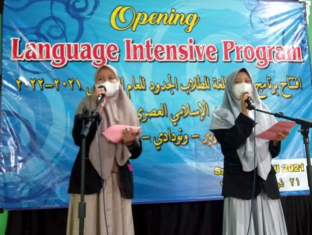 LPBA Gelar Opening Language Intensive Program